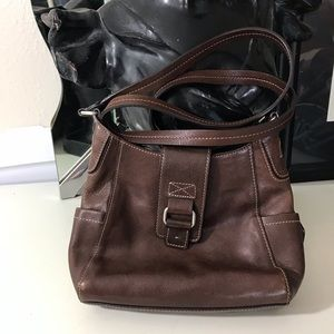 Fossil small crossbody leather bag